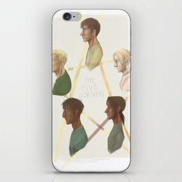 pentangle iPhone Skin