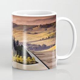 Surreal book with landscape illustration Coffee Mug