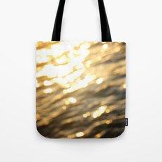 Golden Paradise Tote Bag