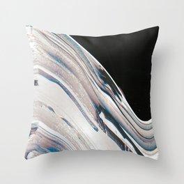 Space Time Blur Throw Pillow