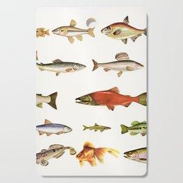 Fishing Line Cutting Board