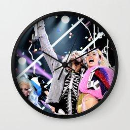 Miley and Wayne Wall Clock