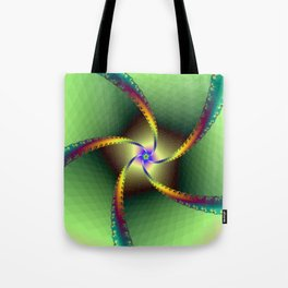 Whirligig in Green Tote Bag