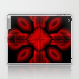 Red Glow Laptop & iPad Skin