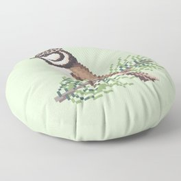 Bird 3 Floor Pillow