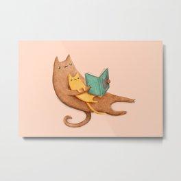The Cat's Mother Metal Print