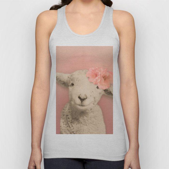2bbd5c96f9a0fd Flower Sheep Girl Portrait