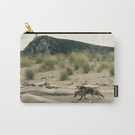Maremma Volpe- wild fox Carry-All Pouch