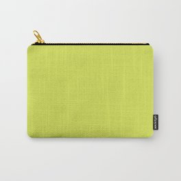 Maximum Green Yellow - solid color Carry-All Pouch