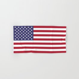 National flag of USA - Authentic G-spec 10:19 scale & color Hand & Bath Towel