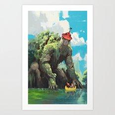 La Tour de Tarascon Art Print