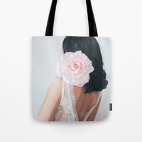 pastel Tote Bags featuring Pastel by Jovana Rikalo