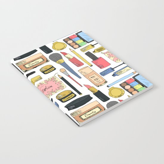 Cosmetic pattern Notebook