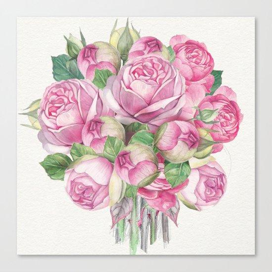 Flowers bouquet #18 Canvas Print
