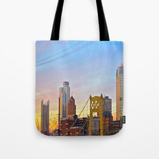 Sunset from the Southside Tote Bag