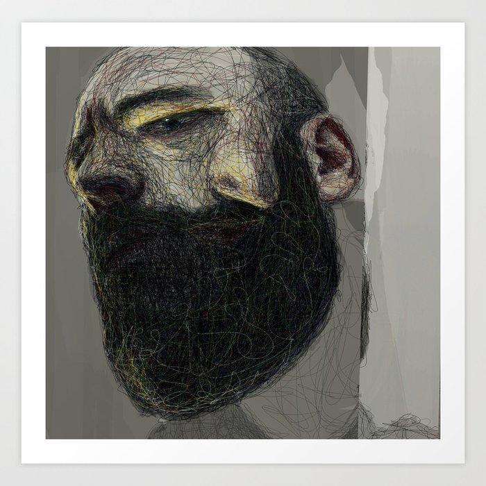 Self Portrait at 33 #3 Art Print