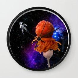 Space Spaghetti IRL Wall Clock