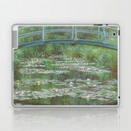 Claude Monet The Japanese Footbridge 1899 Painting Laptop & iPad Skin