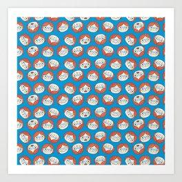 Pattern Project #13 / Mood Swings Art Print