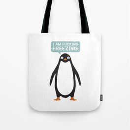Talking Penguin Tote Bag