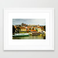 prague Framed Art Prints featuring Prague. by Michaëlis Moshe