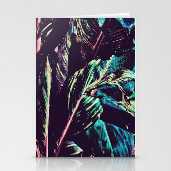 Funky Leaves  Stationery Cards
