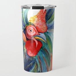 Crazy Kauai Rooster 3 Travel Mug