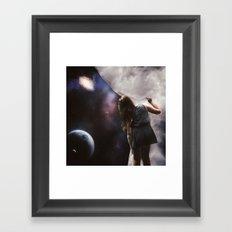 Beyond the Clouds Framed Art Print