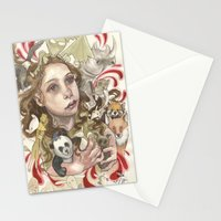 Animal Hugs Stationery Cards