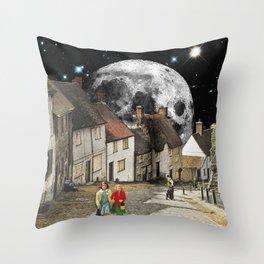 Anglican Lunar Throw Pillow