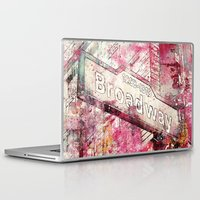 broadway Laptop & iPad Skins featuring Broadway by LebensART