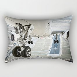 Positive rate.. gear up Rectangular Pillow