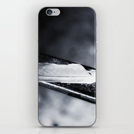Caged bird free. iPhone Skin