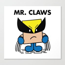 Mr. Claws Canvas Print