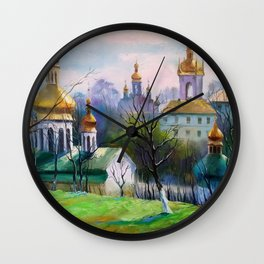 Holy Dormition Kiev-Pechersk Lavra Wall Clock