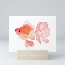 Cherry blossom goldfish Mini Art Print