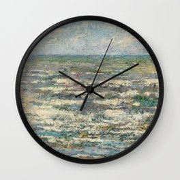 The Sea near Katwijk, Jan Toorop, 1887 Wall Clock