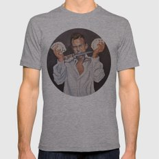 George Oscar Bluth 2X-LARGE Mens Fitted Tee Tri-Grey