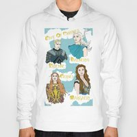 daenerys Hoodies featuring Game Of Thrones  by JessicaJaneIllustration