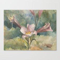 Majestic Mauve Canvas Print