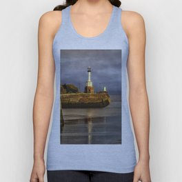 Early Morning At Maryport Harbour Unisex Tank Top