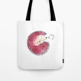 Hedgehog Sneeze Tote Bag
