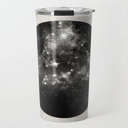 God's Window - Black And White Space Painting Travel Mug