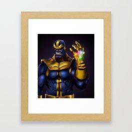 Thanos - Marvel Villain Series Framed Art Print