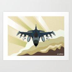 F-16 Fighting Falcon Art Print
