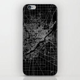 Toledo map ohio iPhone Skin