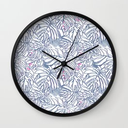 Palm Leaf (House mate series) Wall Clock