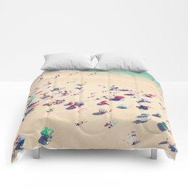 beach summer in love Comforters