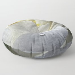 Water Lily Simplicity Floor Pillow