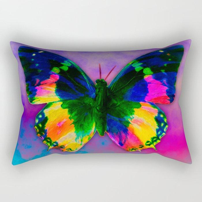 Buterfly III Rectangular Pillow